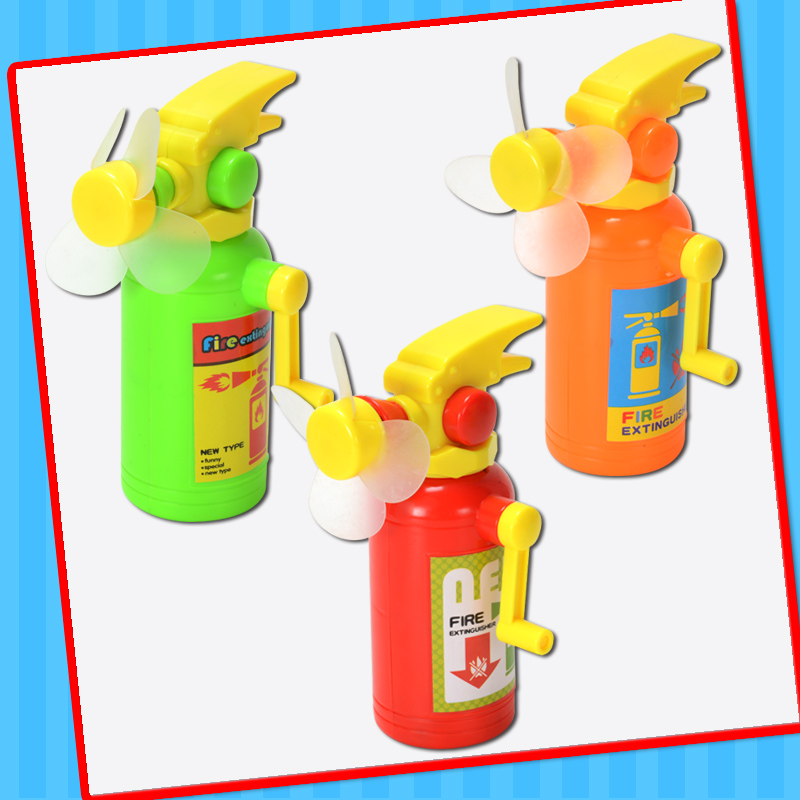 Plastic Extinguisher Fan Toy with Candy