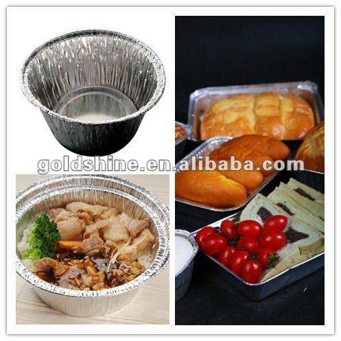BBQ Food Use Disposable Aluminum Foil Box