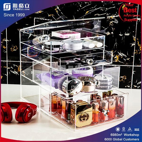 Cosmetic Organizer Jewelry Acrylic Storage Box