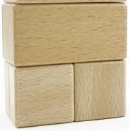 Wooden Block Set Christmas Gift