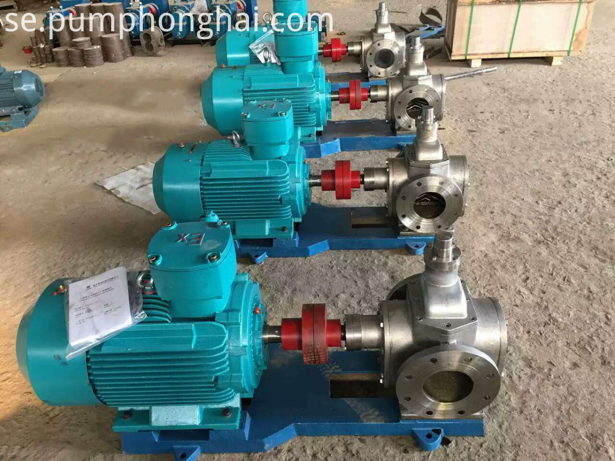 One Year Mobile Oil Suction Gear Pumps