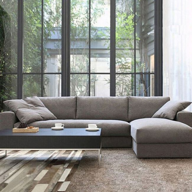 Fashion Japanese Style Living Room Furniture Modern Fabric Sofa