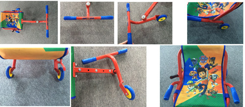 Swing Scooter with Hot Salels for Kids (YV-ER01)