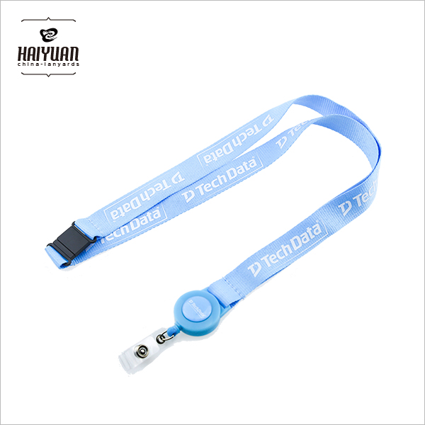 Customized Badge Retractable Pull Reel Lanyards