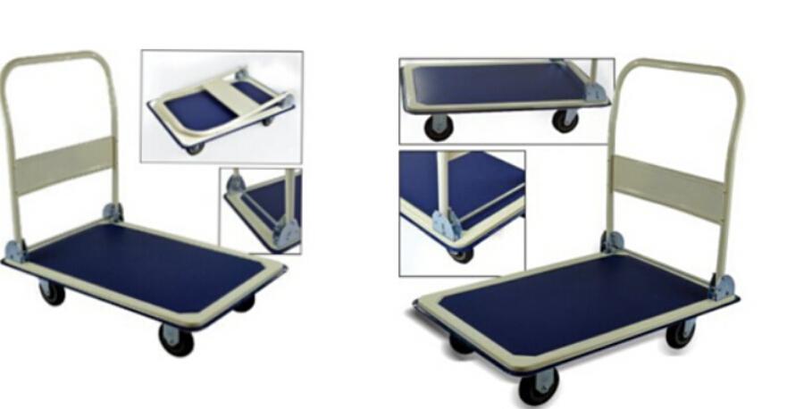 Heavy Duty Folding 150 Kg Platform Hand Trolley Cart