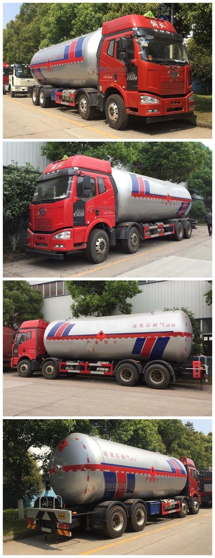 34.5cbm 35.5cbm Mobile LPG Propane Gas Storage Tank Station Truck Bobtail Tanker Filling Tank Dispenser Truck