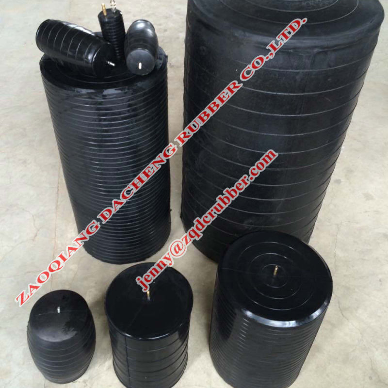 Inflatable Rubber Pipeline Stoppers (high pressure) for Pipe Repair and Maintenance (Made in China)