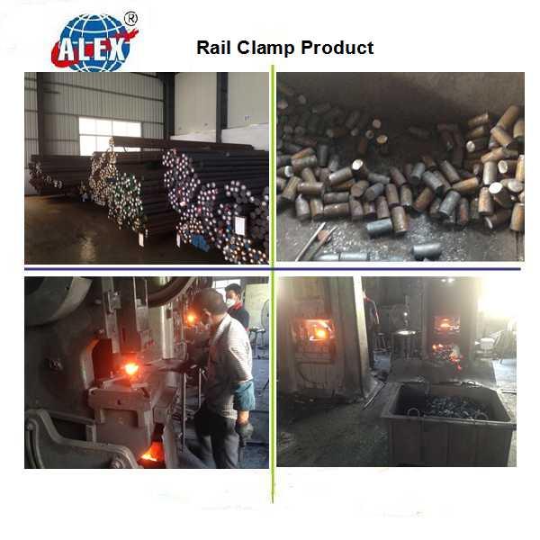 Railroad Fastening Rail Casting Clamp