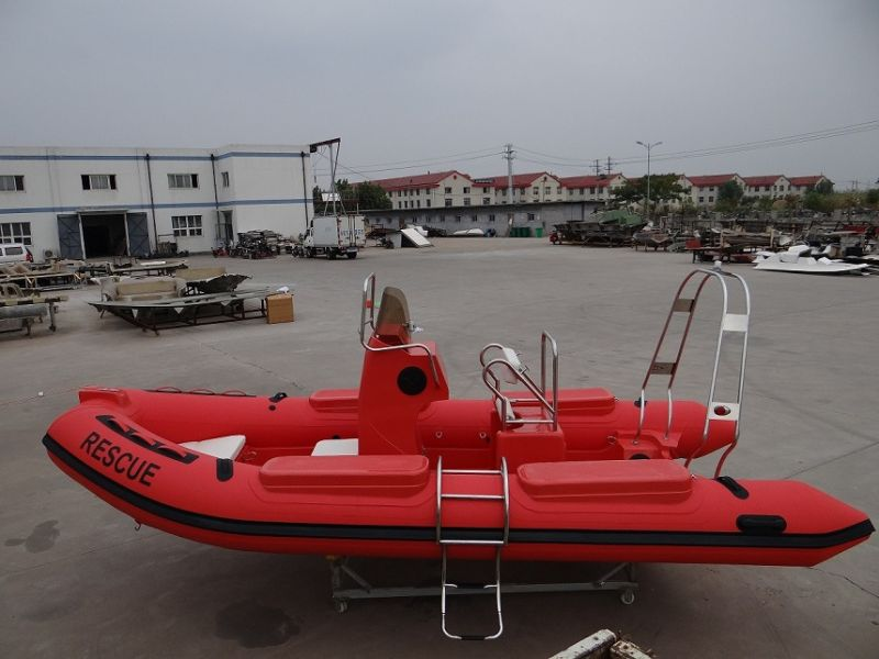 Rib Infatable Boat with High Quality PVC