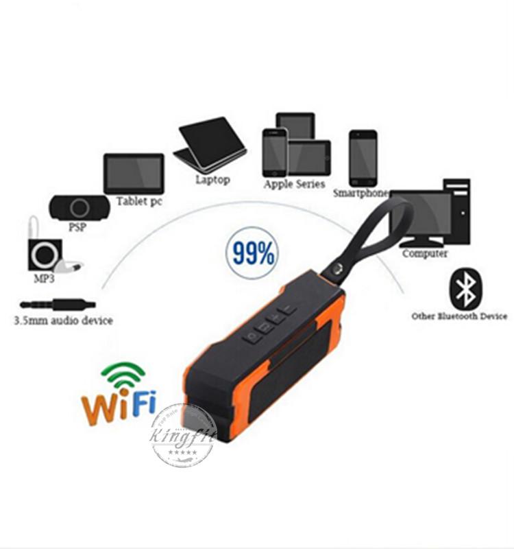Hot! New WiFi Waterproof Speaker with Power Bank