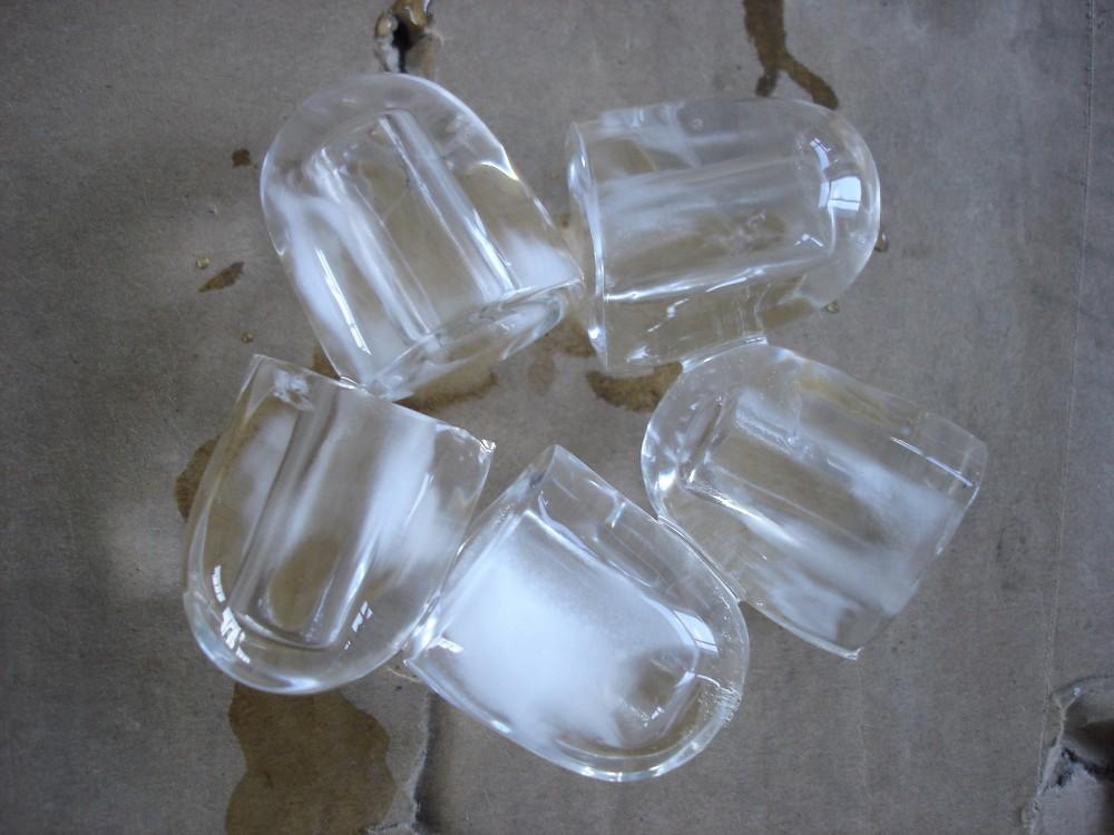 bullet shape ice