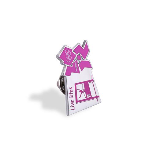 Heart Shape Volunteer Badge, Custom Lapel Pin (GZHY-LP-045)