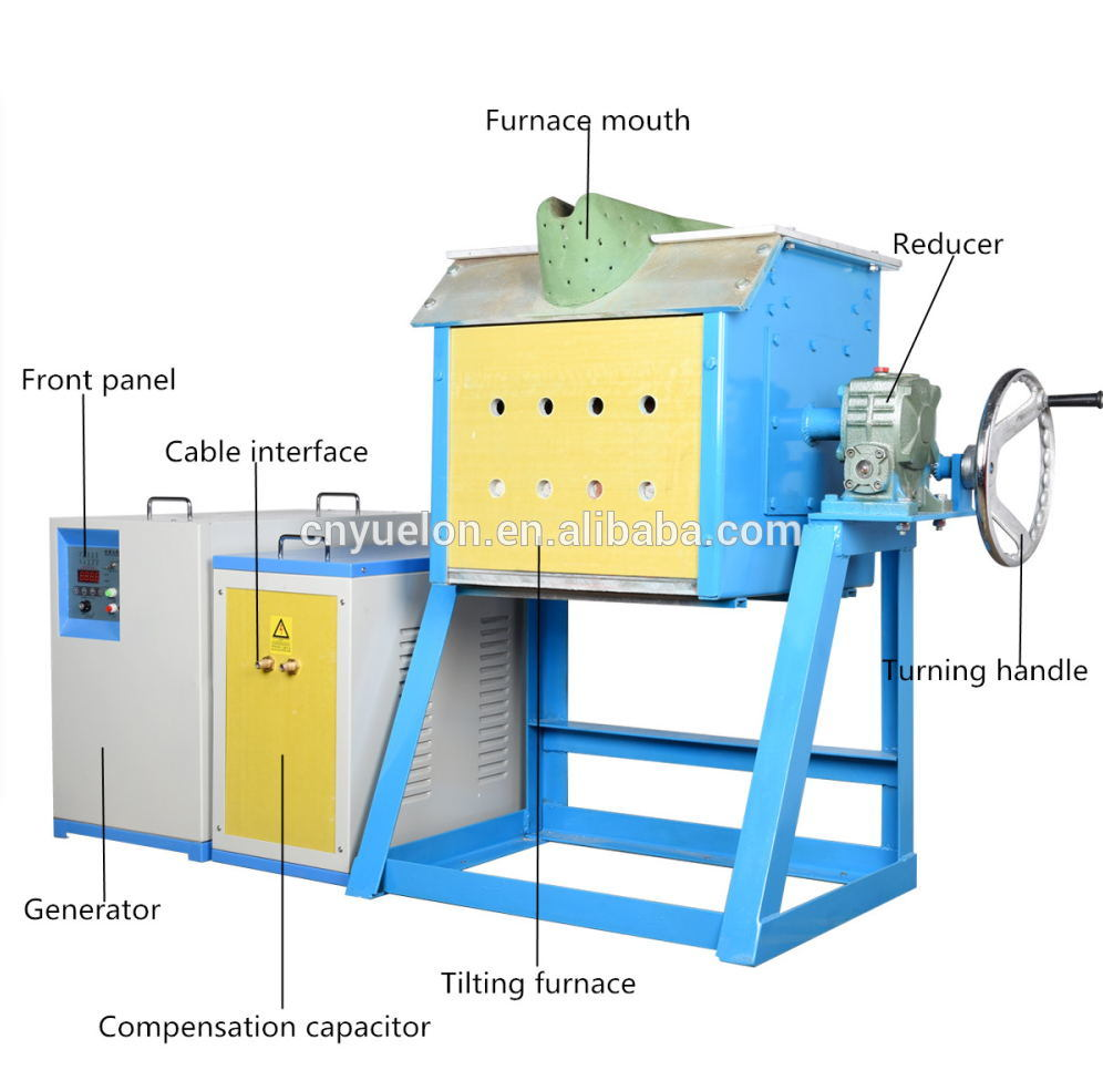 Yuelon Induction Copper Melting Machine