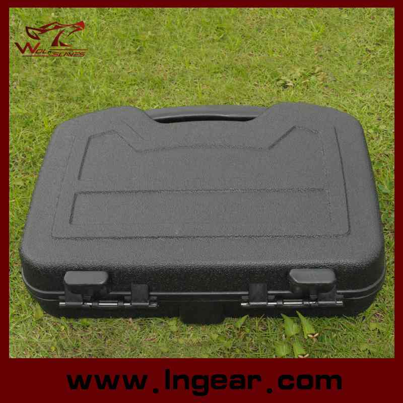 Military Tactical 32cm Hard Plastic Tools Cases Gun Suitcase Waterproof Case