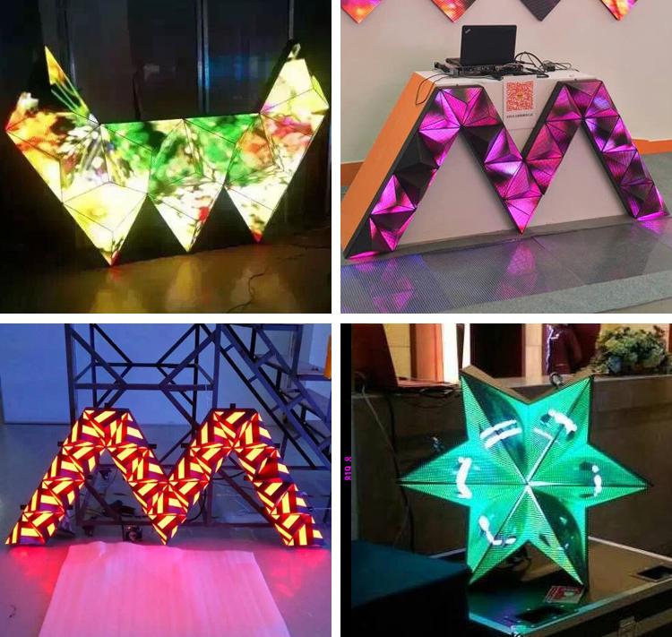 Triangle LED Screen