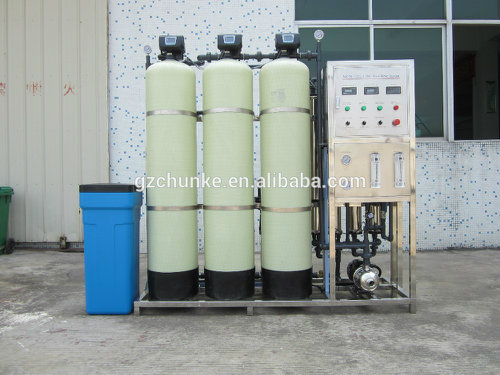 Health Level Stainless Steel Water Purification Machine by RO System