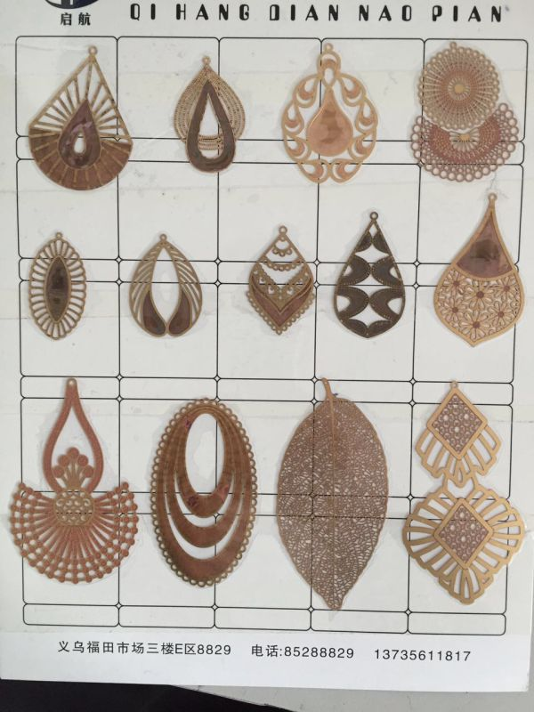 China Wholesale Brass Filigree Stampings