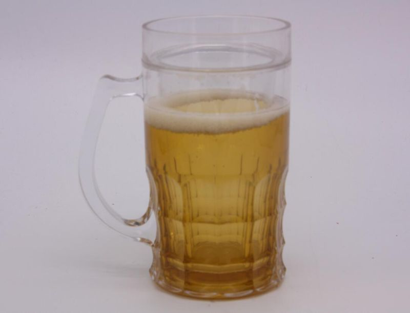 Double Wall Frosty Mug Frozen Ice Beer Mug for Promotional Gifts (HA09077-1)