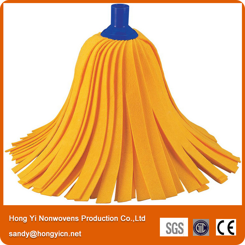 Needle Punched Nonwoven Fabric Mop Head