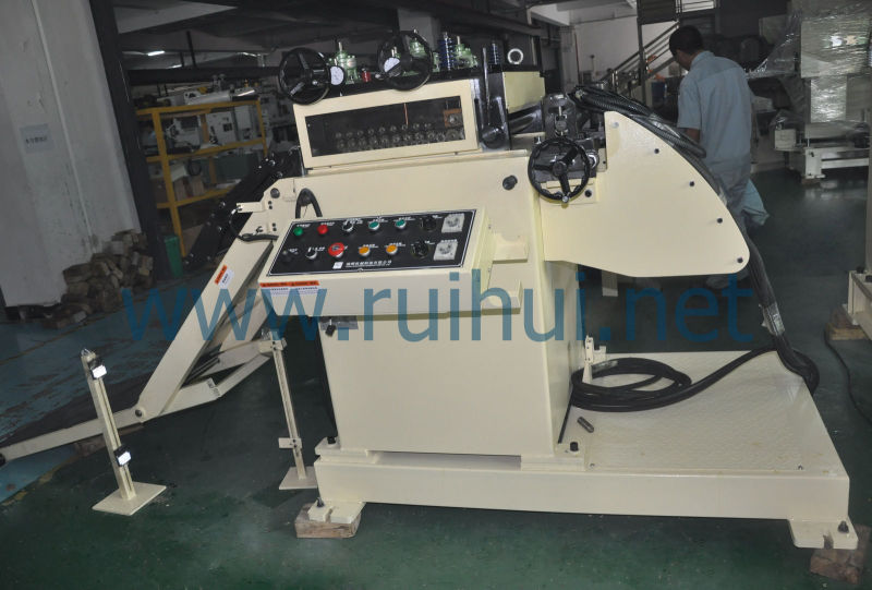 Hard High Precision and Long Service Life Is Uncoiler Straightener