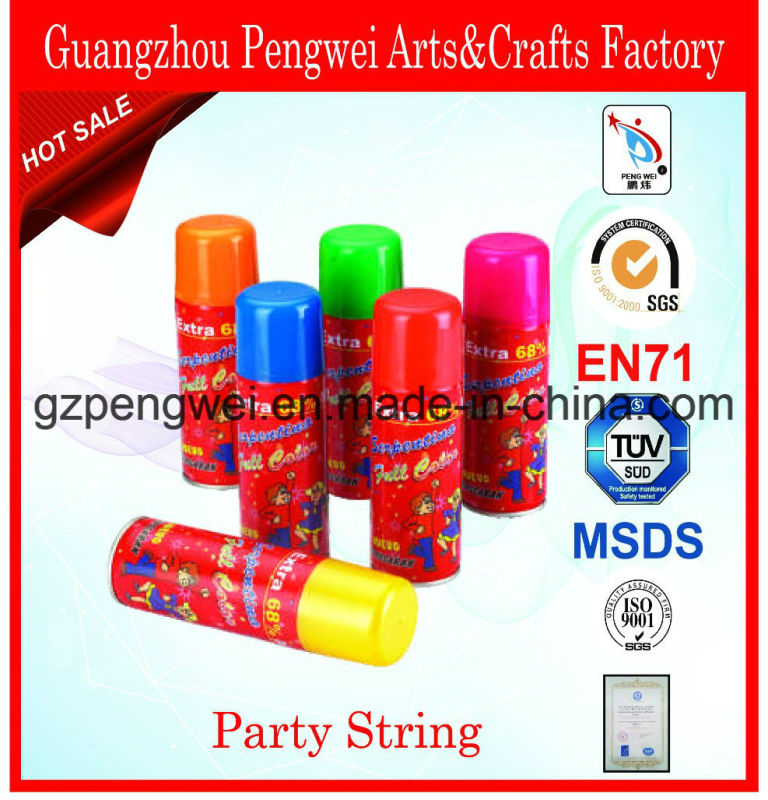 Hot Sale Christmas Carnival Party Silly String