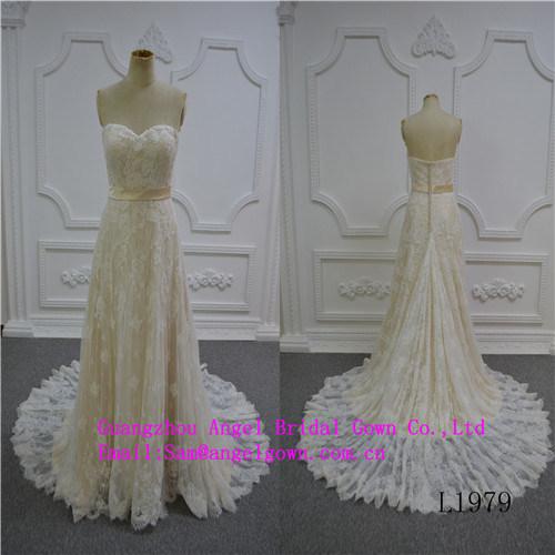 Mermaid Sexy Strapless Wedding Dress