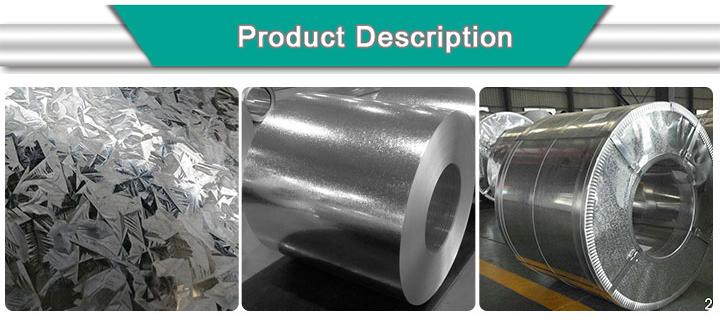 Hot Dipped Galvanized Steel Zero Spangle