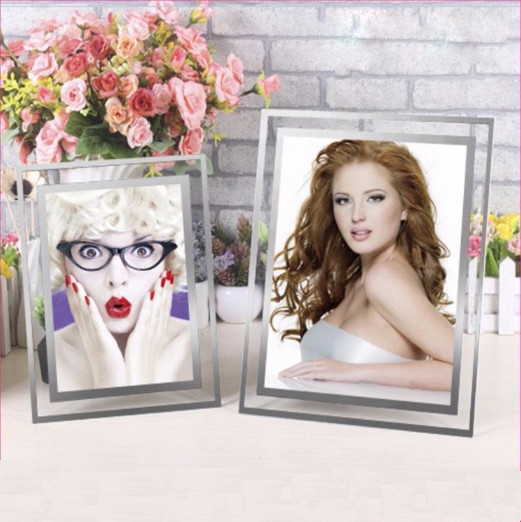 Promotional Clear Crystal Acrylic Photo Frame