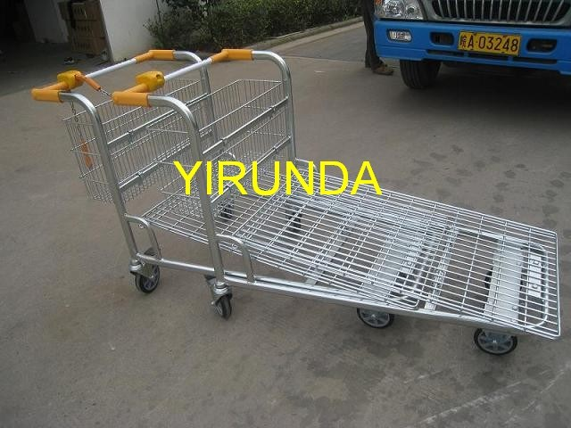 Logistic Flat Bed Cargo Trolley