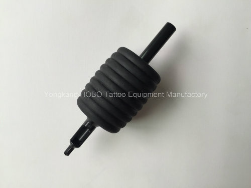 Wholesale All Black Machines Silicone Rubber Disposable Tattoo Tube
