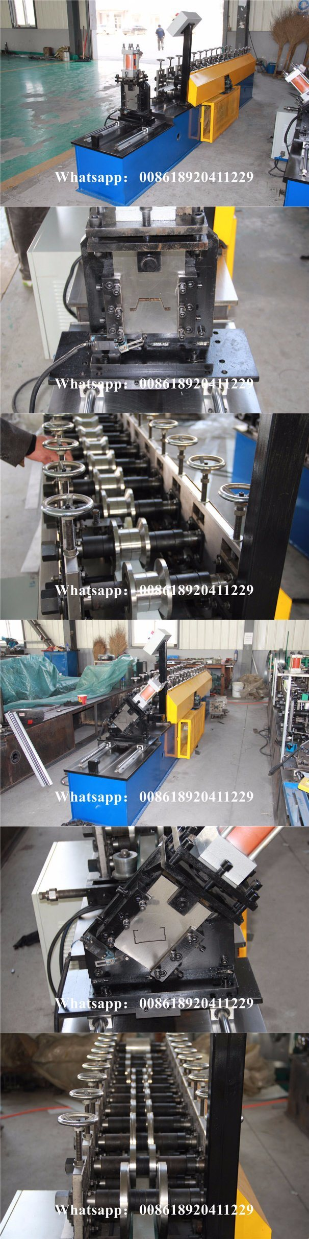 Light Steel Hat Omega Profile Roll Forming Machine