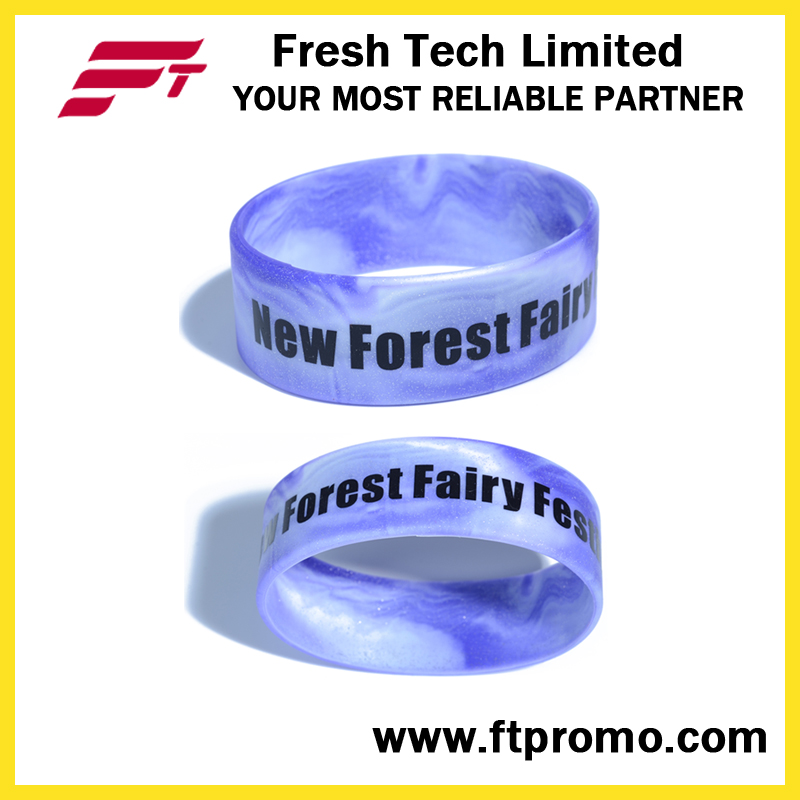 Hot Selling Customized Printed Silicone Wristband