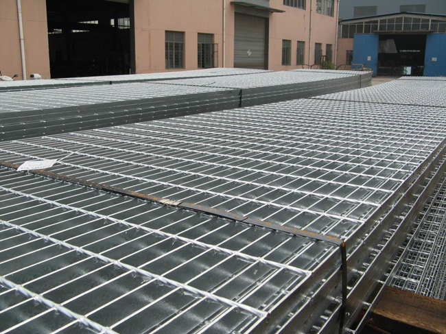 Steel Bar Mesh Gratings / Galvanized Walkway Panel