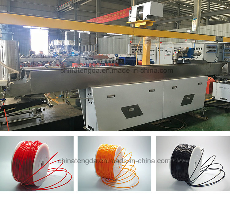 PLA Biodegradable Filament Extruder