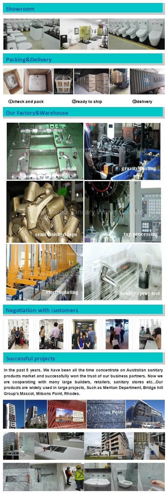 South America Sanitary Ware Brass Body Basin Faucet (Chrome)