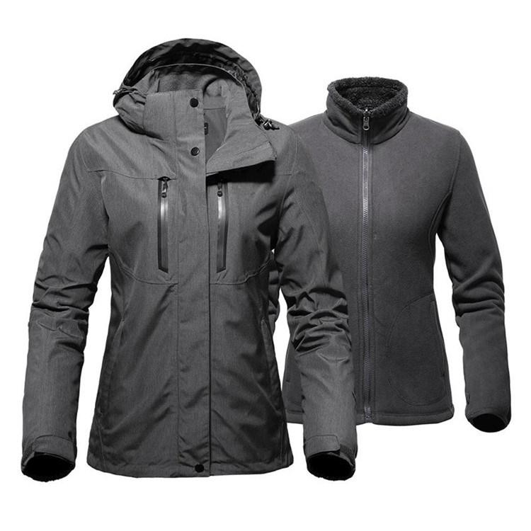 Womens Mens Ski Parka Winter Jackets Snow Fleece Coats