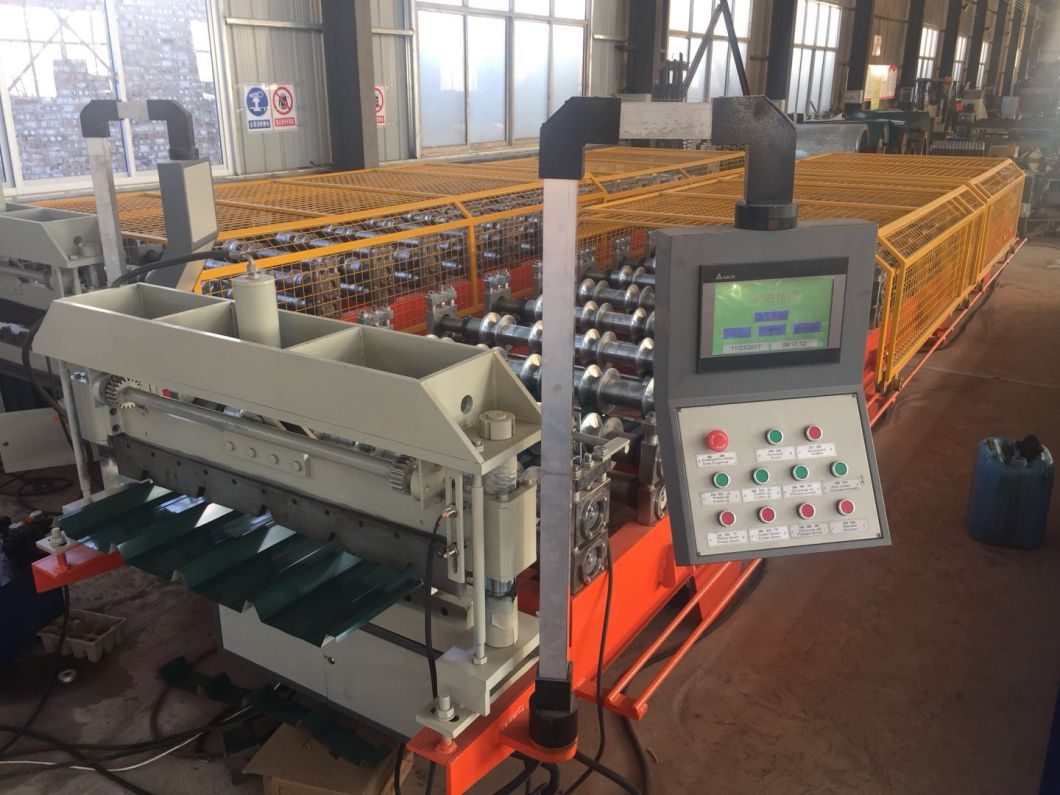 Yufa Facotry Galvanized Steel Ibr/Corrugated Profile Roofing Sheet Forming Machine