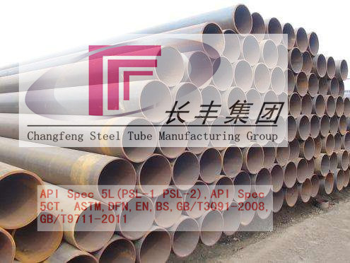ERW Varnishing Round Carbon Steel Pipe for Special Purpose
