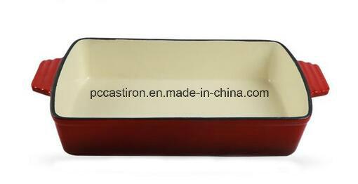 Enamel Cast Iron Roasting Pan Manufacturer From China