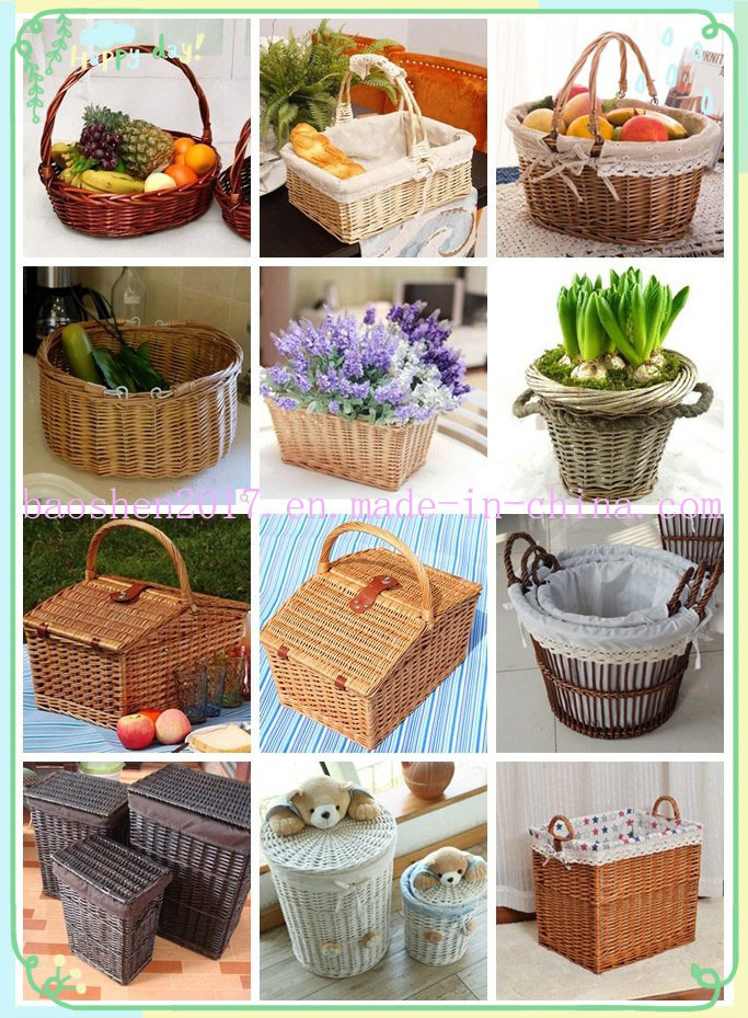 Willow Gift Basket with Handle
