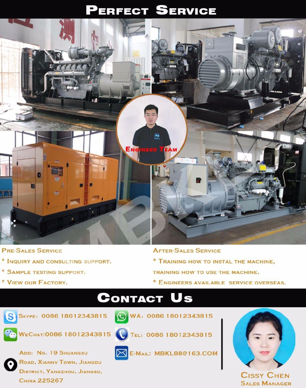 High Quality New Design Japan Original Mitsubishi Engine 1360kw/1700kVA Diesel Generator for Sale S16r-Pta