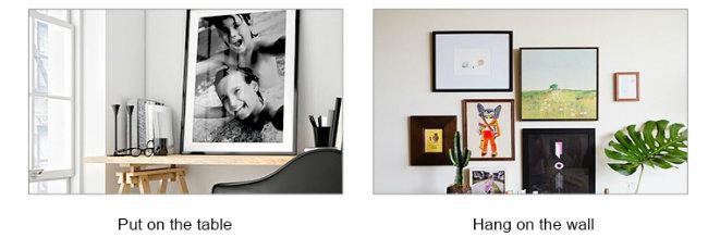 Plug-in Design Metal Frame-Black Color for Wunderboard Sublimation Aluminum Sheets