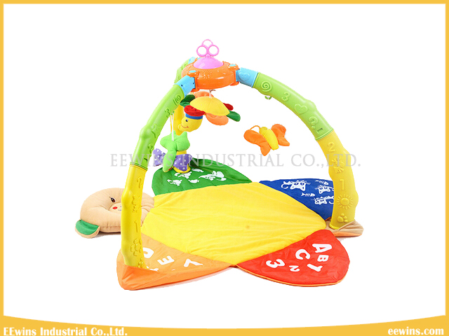 Baby Toys Bear Play Gym with Wind up Music Play Mat