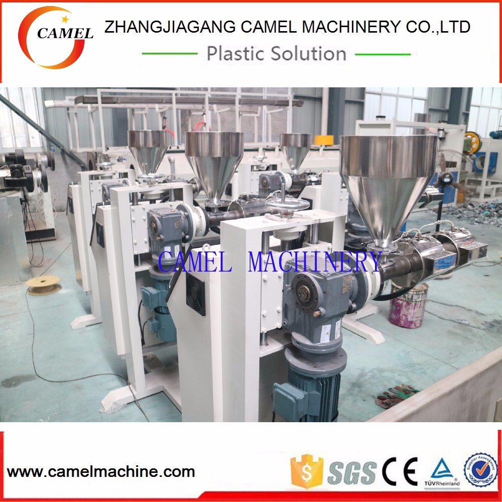 Sj-25 Single Screw Extruder for Plastic Pipe Color Line