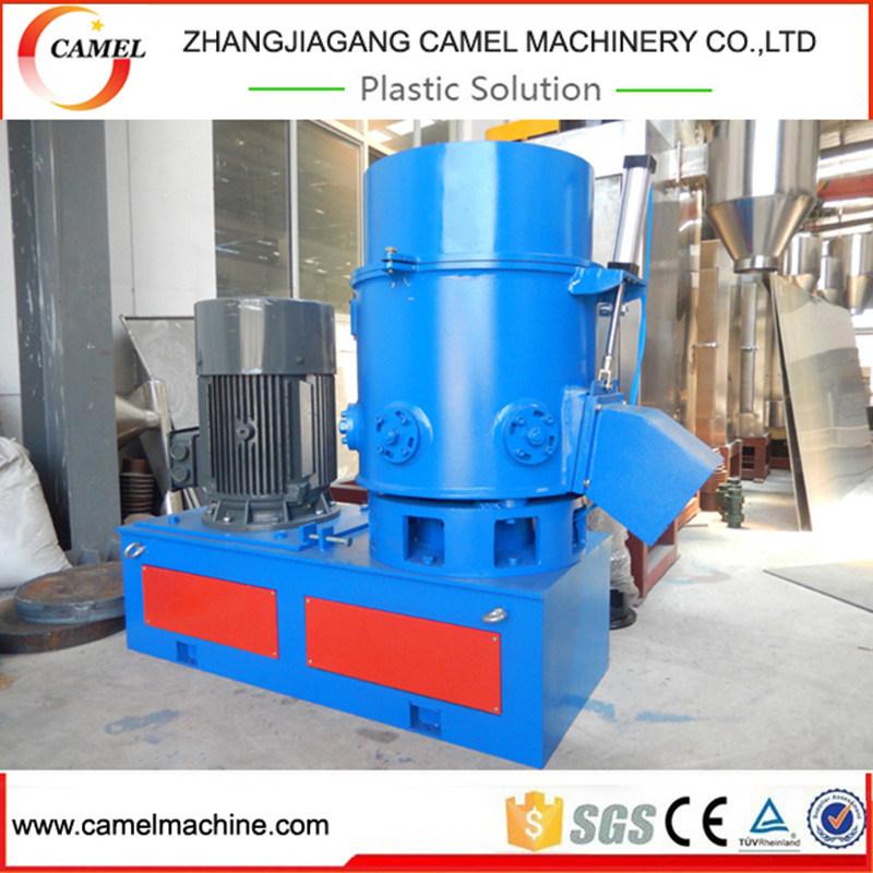 Waste Plastic PP PE Film Agglomerator/Granulator Machine