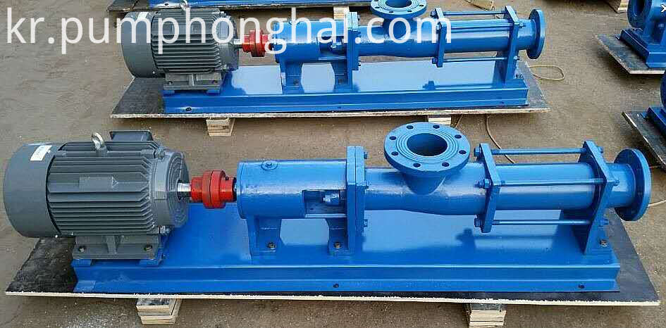 Screw Sewage Pump