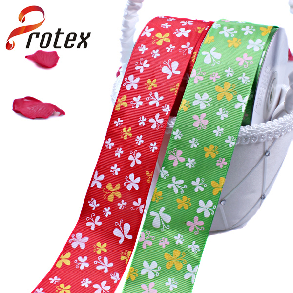 Butterfly-Shape Printed Ribbon
