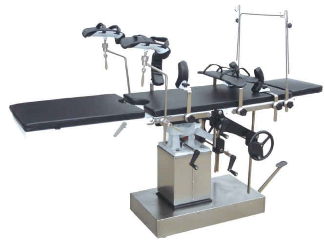 Manual Side-Manipulating Operation Table for Surgery Jyk-B7301d