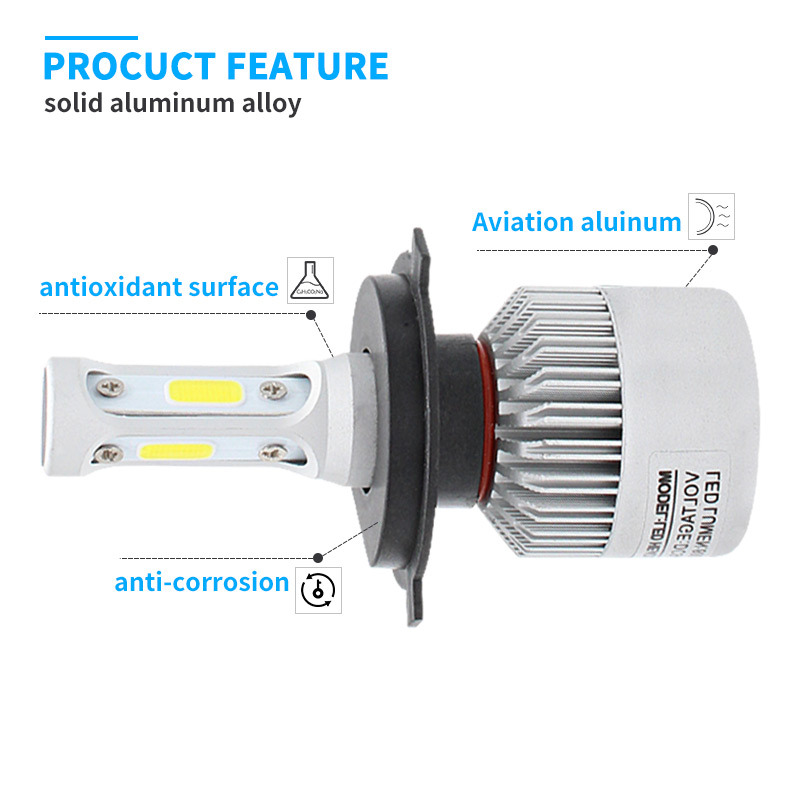 Auto Parts and Car Accessory with High Quality LED Trip Light 8000lm and Auto Bumper (9004 9005 9006 9007 9012)