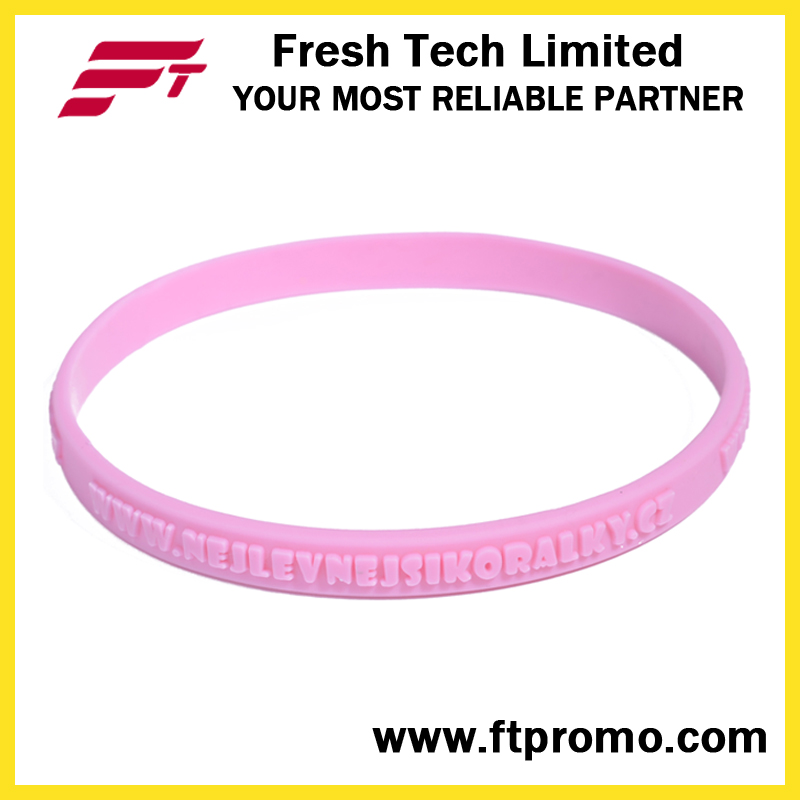 Fashionable Custom Silicone Bracelet with Logo
